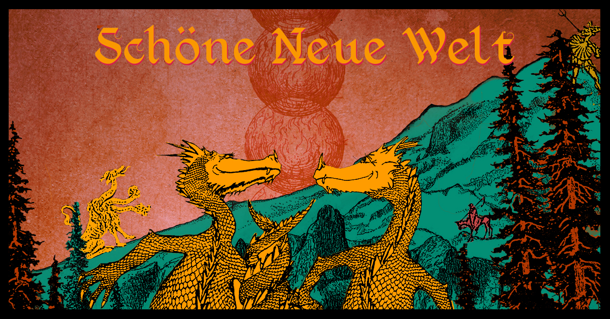 Schöne Neue Welt // The Drifter, Ninze, Eluize