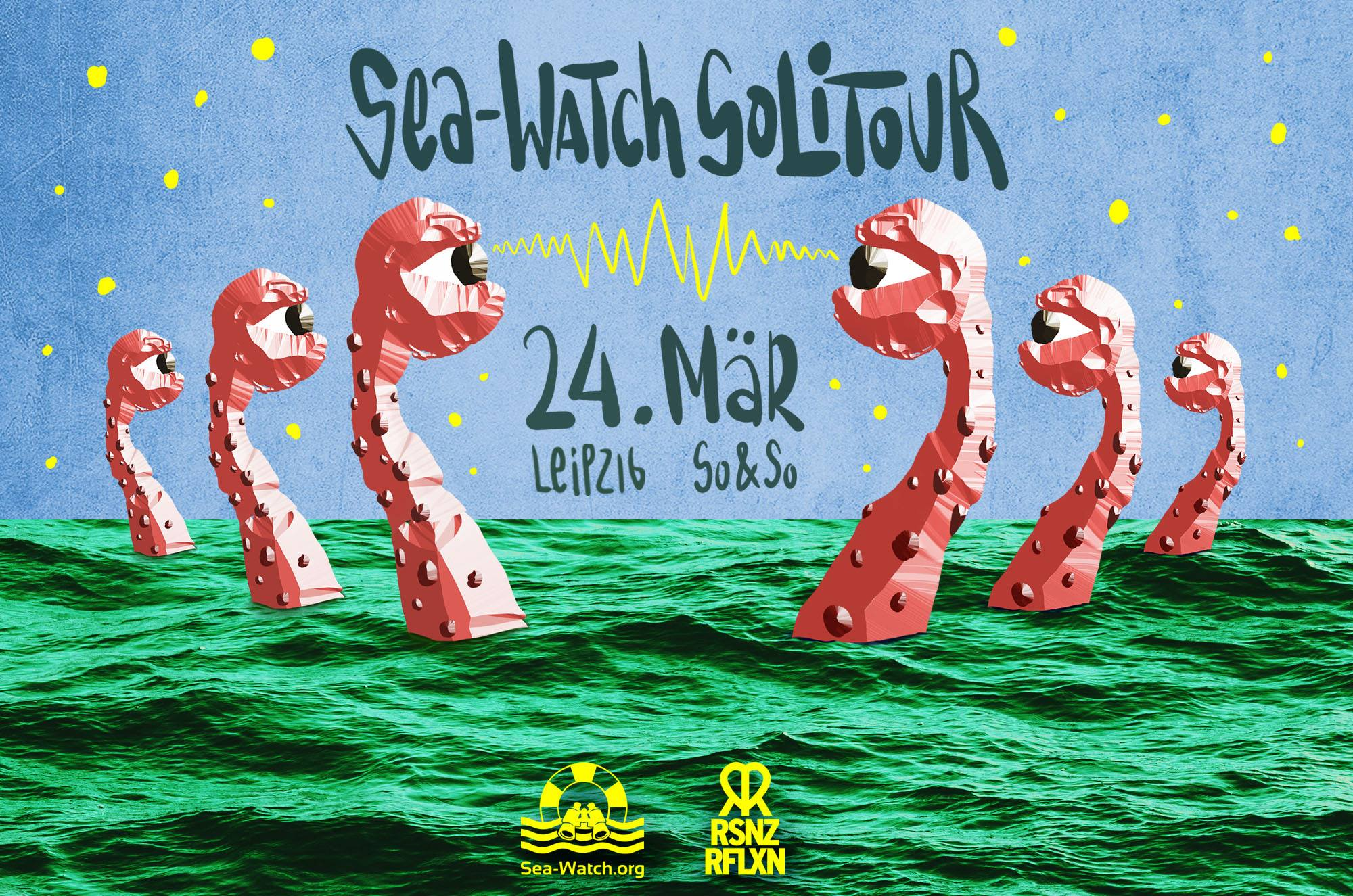 Sea-Watch Solitour in Leipzig