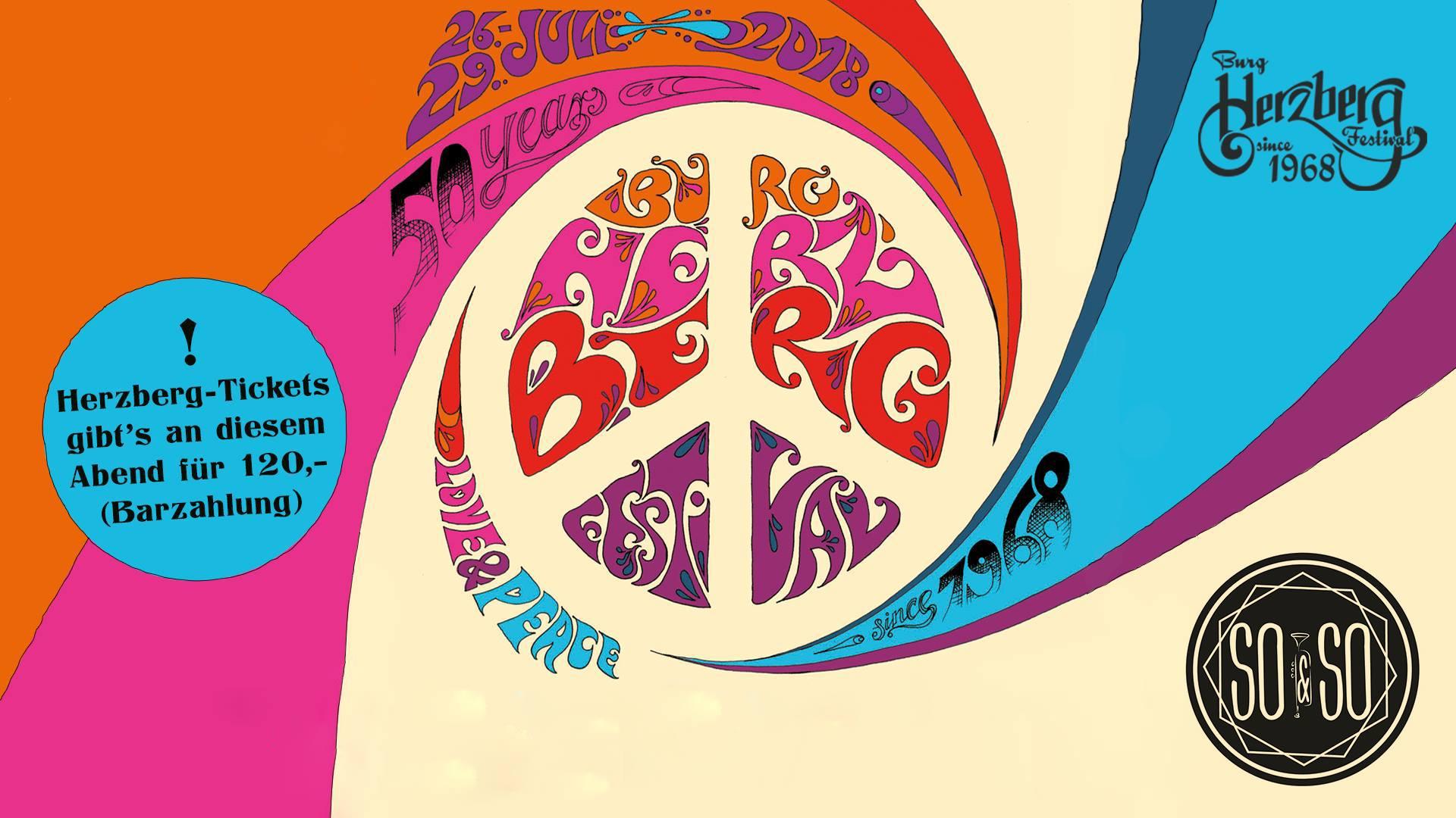 Warm-Up Hippie Convention - 50 Jahre Burg Herzberg Festival