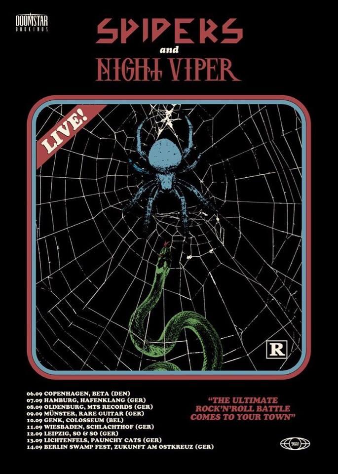 Spiders & Night Viper *LIVE*