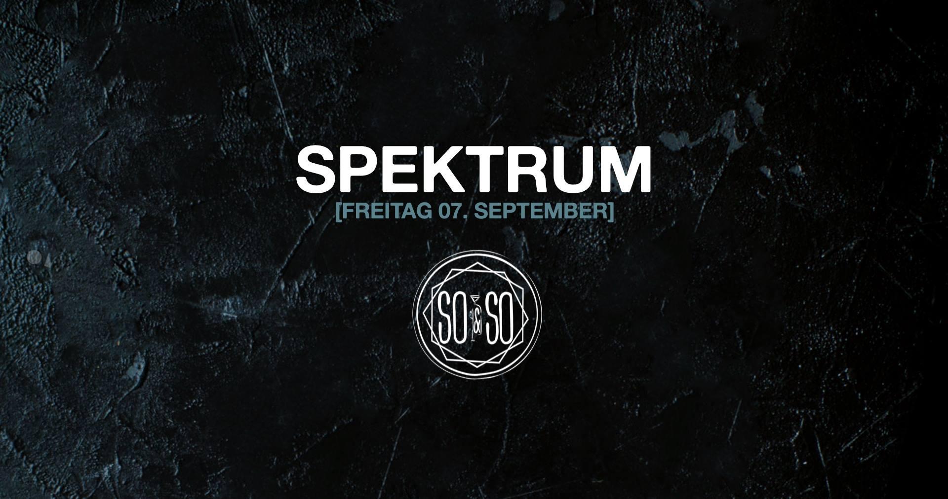 Spektrum w/ Tommy Four Seven