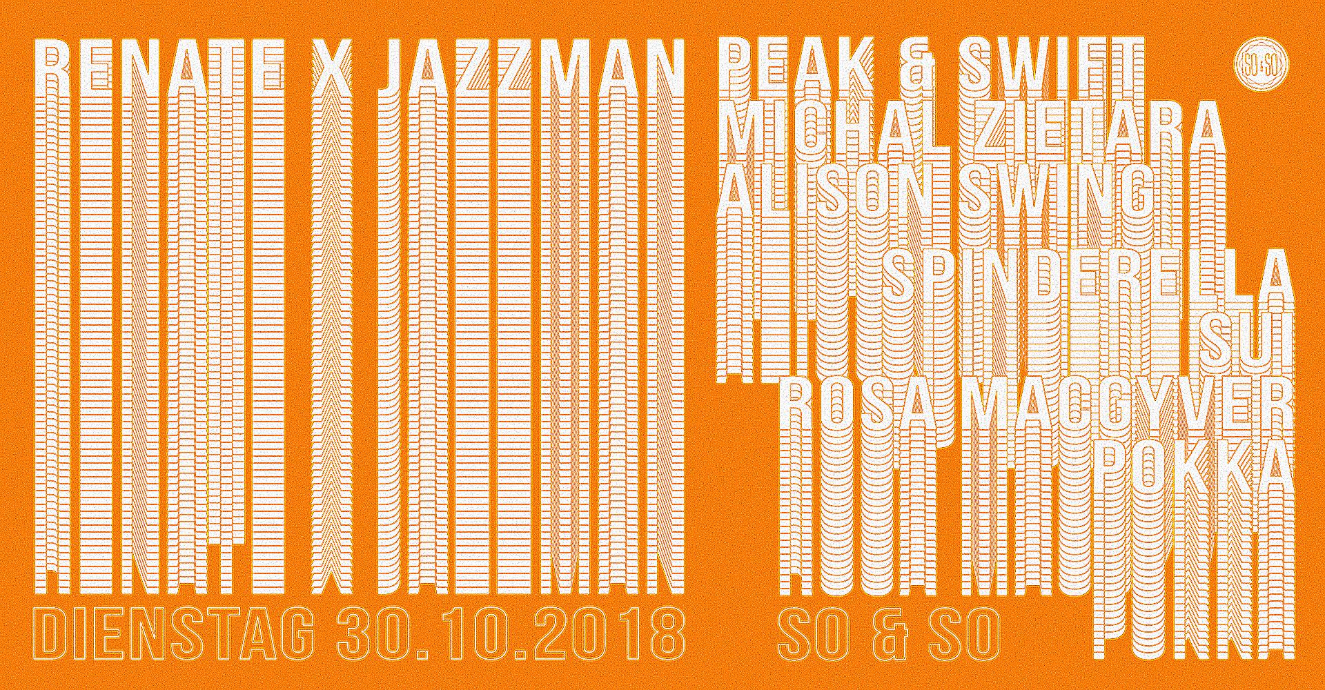 Renate x Jazzman