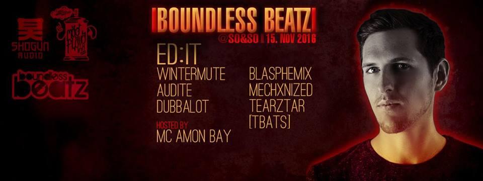 Boundless Beatz pres. Ed:it