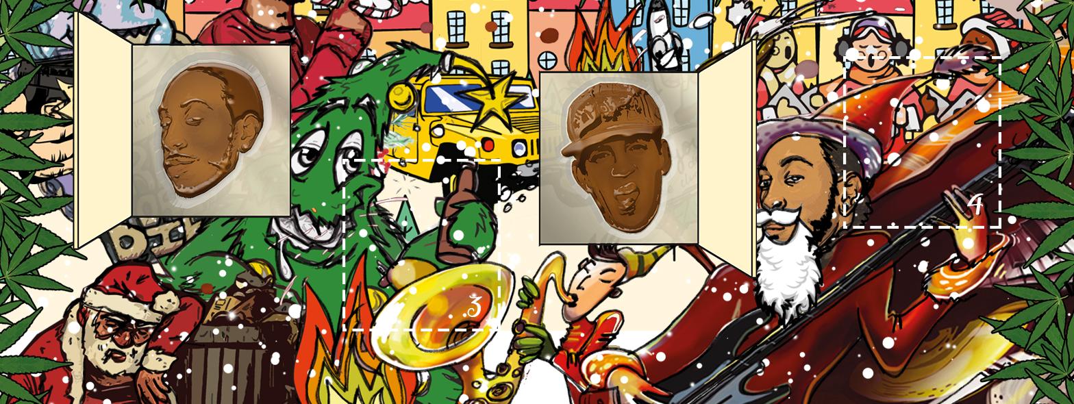 Ludacrismas 2. Advent //w NINZE & OKAXY + mibo
